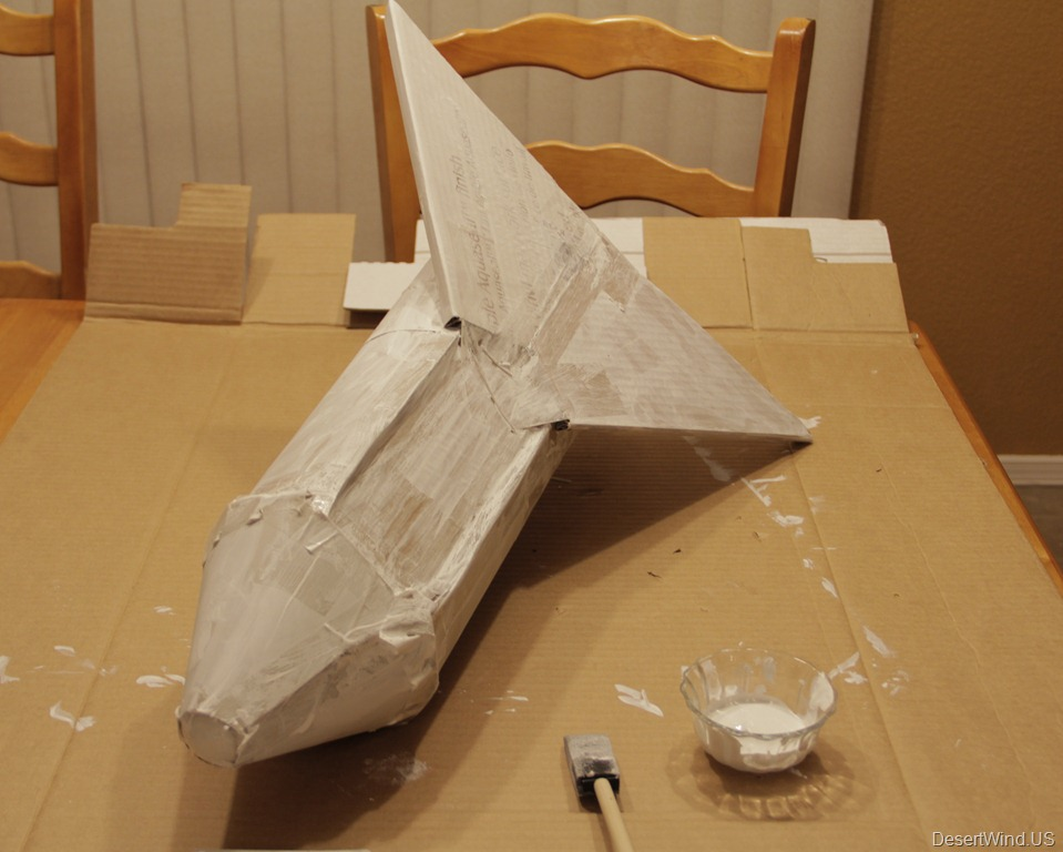 Cardboard Space Shuttle (page 2) - Pics about space